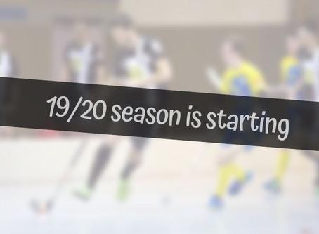 19/20 season about to start