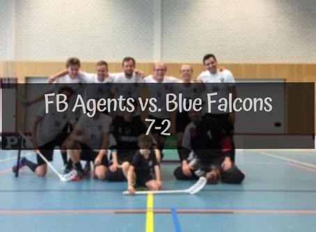 Agents-Blue Falcons 7-2
