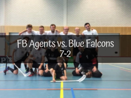 Agents-Blue Falcons 7-2