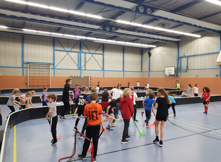 School floorball toernooi 17 april