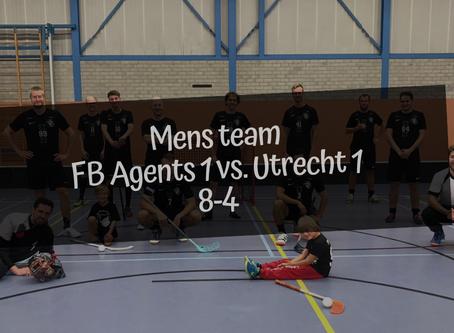 FB Agents 1 vs. Utrecht, 8-4