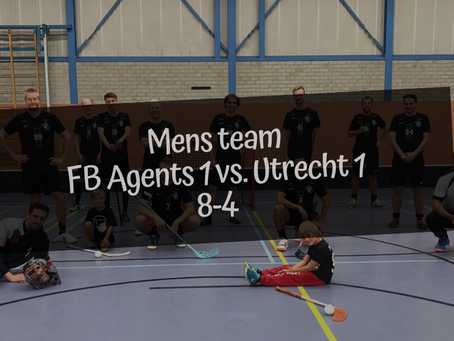 FB Agents 1 vs. Utrecht, 8-4