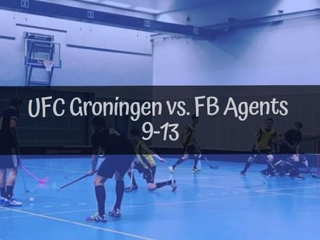 UFC Groningen 1 - Agents | 9-13