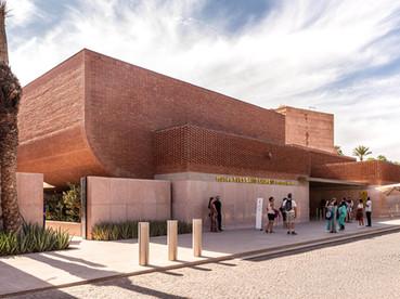Yves Saint Laurent Museum I Marrakech, Morocco