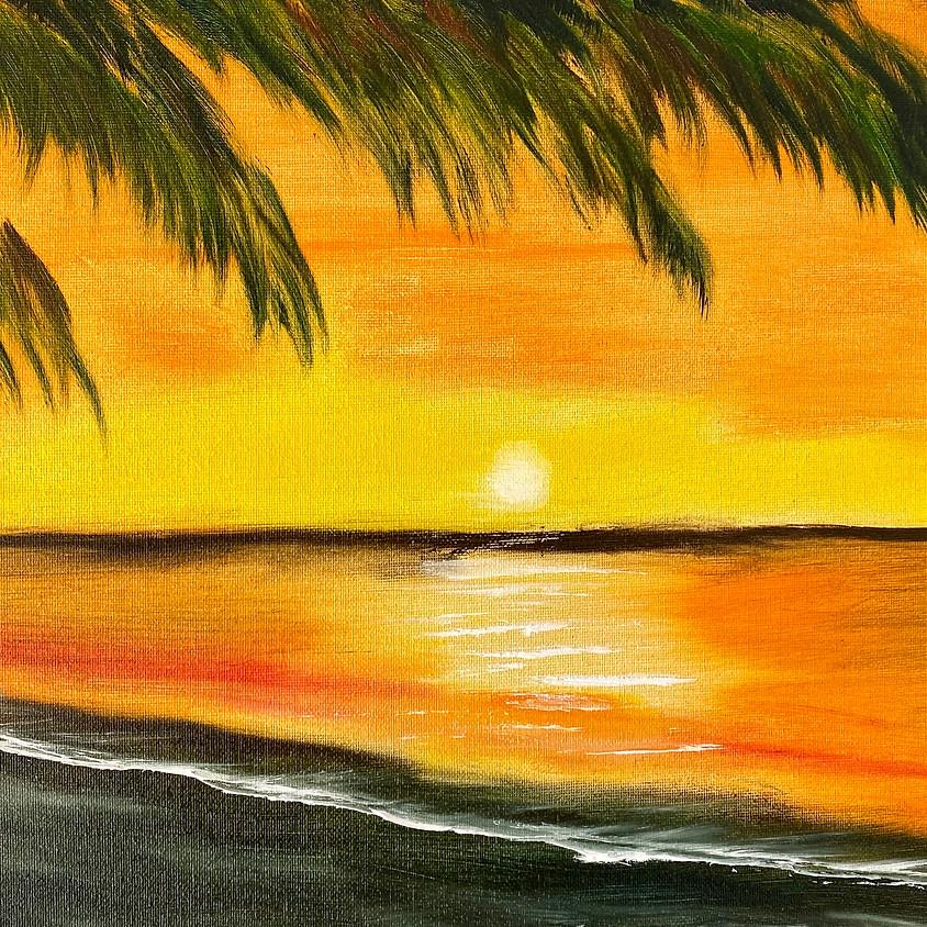 Bob Ross Painting Class: New Dawn