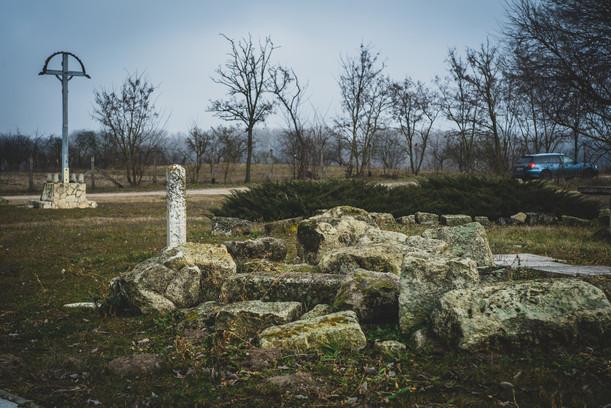 Tiszabögi templomrom