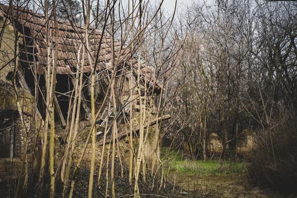 Elhagyatott ház, urbex
