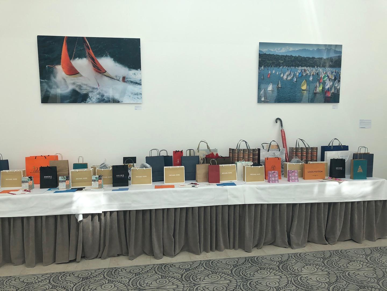 Tombola prizes