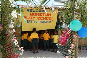 Inauguration of MONETON Playschool, Kokopo, Papua New Guinea