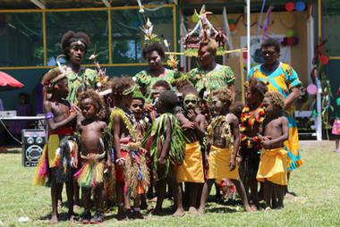Inauguration of MONETON Playschool 2, Kokopo, Papua New Guinea
