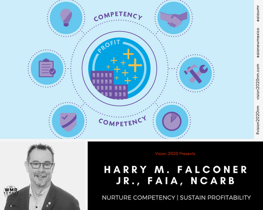 HARRY M. FALCONER JR., FAIA, NCARB, HonD, HonFCARM