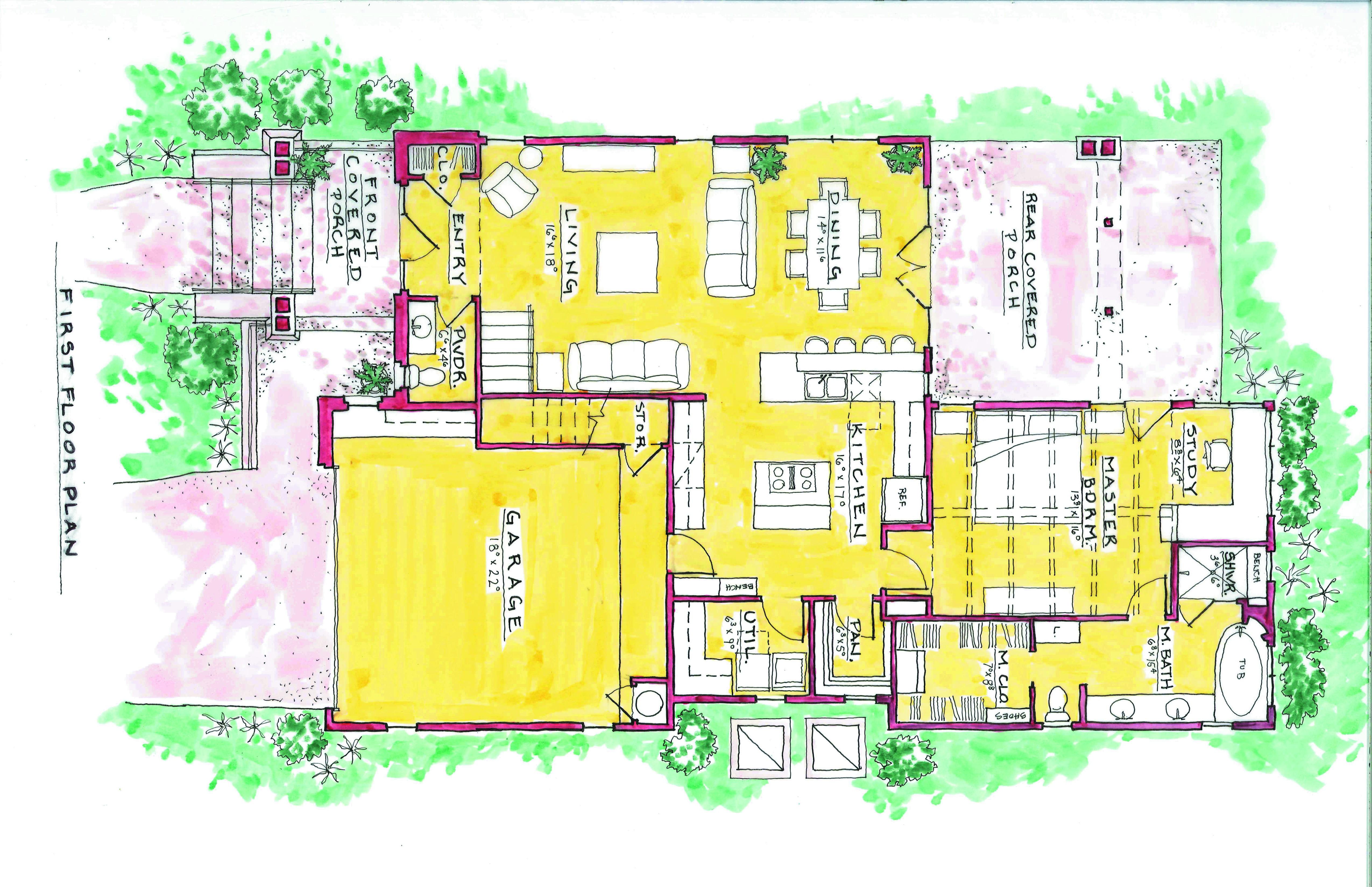 Shoalwood Plan Rendering