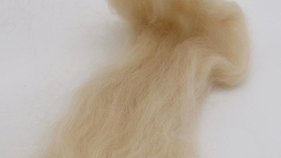 Kammzug Alpaca -beige (100gr.)