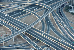 도로 및 교량 네트워크