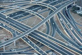 Estrada e Ponte de Rede