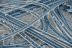 道路や橋のネットワーク