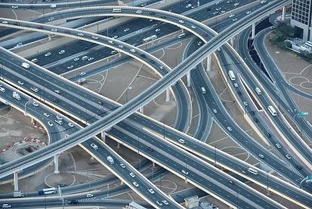 Réseau routier et Pont