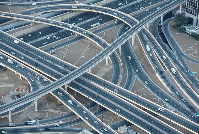 Many alternative routes