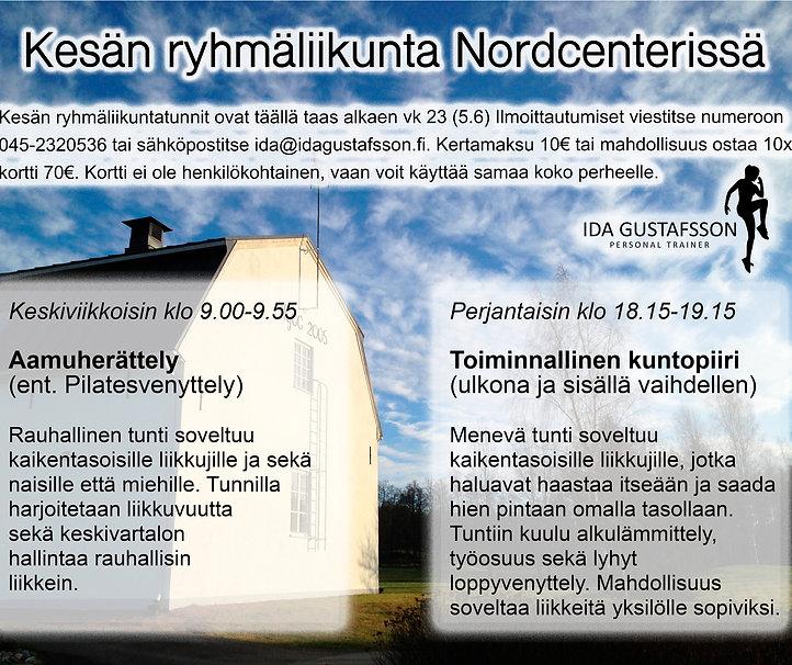 Ryhmäliikunta Nordcenter
