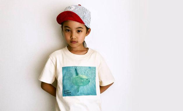 松島水族館「マンボウTシャツ」