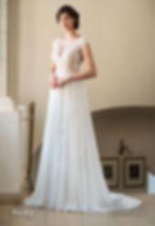 biała sukienka do ślubu koronkowy dół