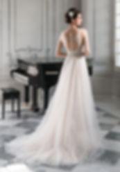 sukienka ślubna odkryte plecy