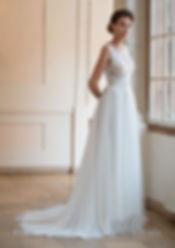biała suknia ślubna kolekcja 2020