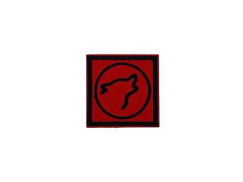 Wolf Head Logo Red/Black