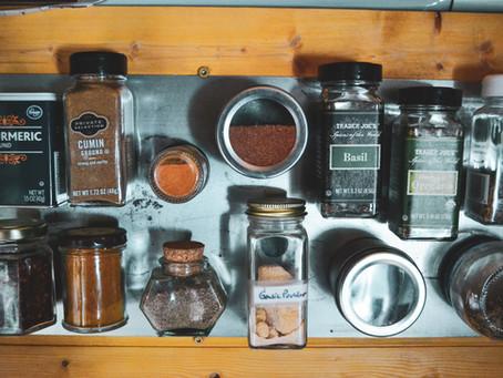 Magnets & Van Life: Spice Rack & Bug Net