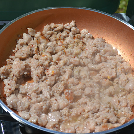 Off-Grid Solar Biscuits & Sausage Gravy