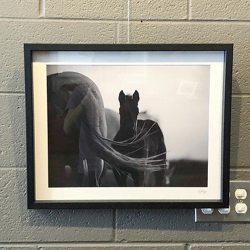 """Tail Wind"" | 19x23 Framed Print"