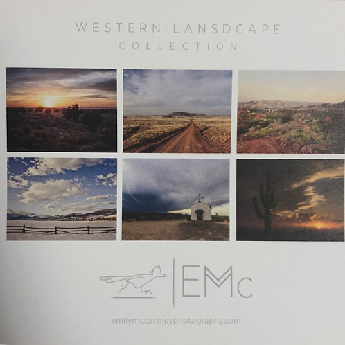 Western Landscape Collection | Notecards