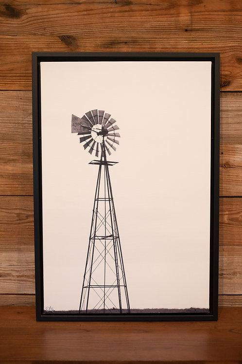 """Aermotor Chicago"" 30x20 Canvas"