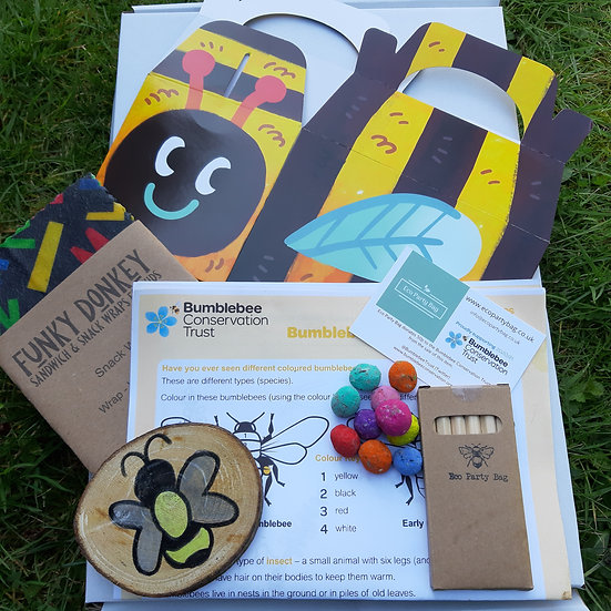Bumblebee Conservation Trust Activity Pack -Eco Party Bag