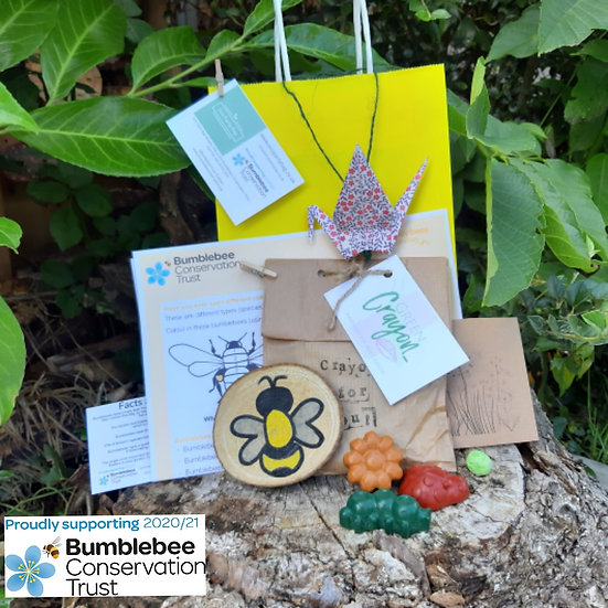 Bumblebee Conservation Trust Activity Bag -Soy Crayons