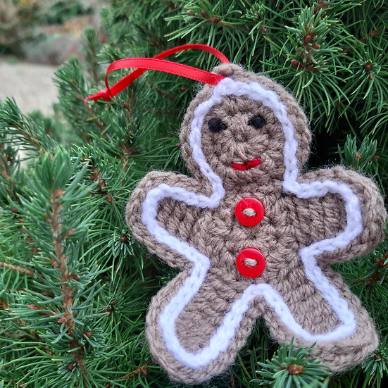Handmade Gingerbread Man Decoration