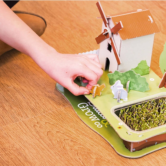 3D Grow Your Own Puzzle - Cress