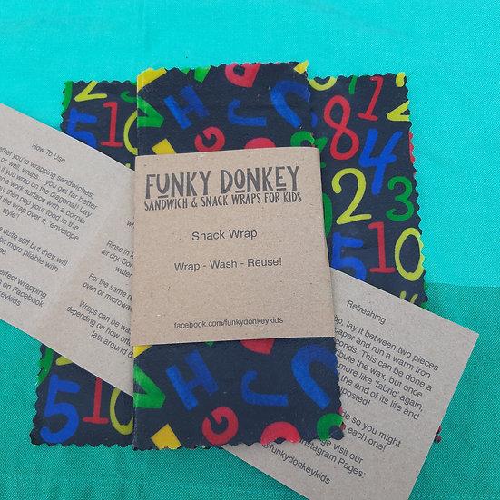 Beeswax Snack Wrap - FunkyDonkeyKids