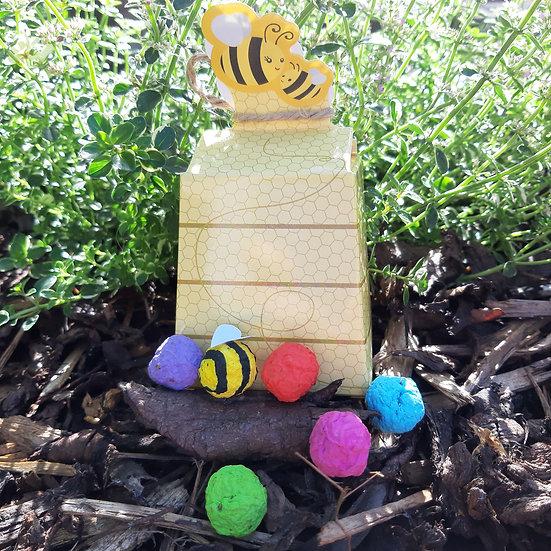 Beehive Wildflower Seed Bombz x 5