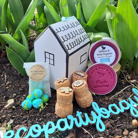 Create Your Own - House Gift Box - Playdough, Stamps and Seed bombs