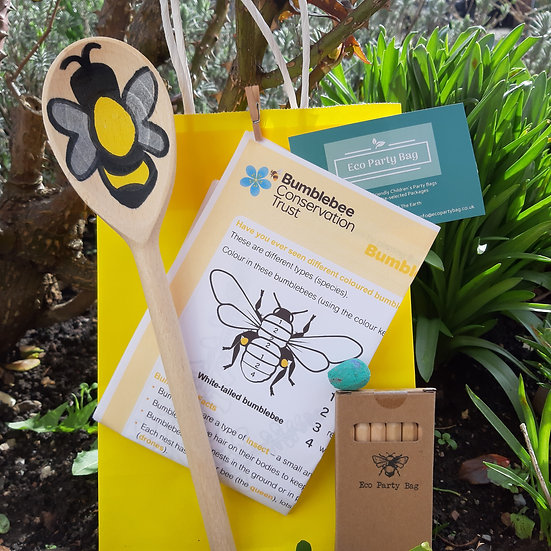 Save The Bees - Eco Party Bag - Garden Sign