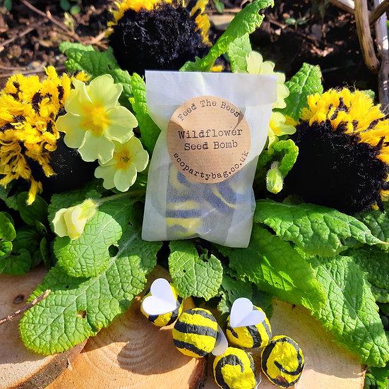 Wildflower Bee Bombs - Pack of 5 Bombs