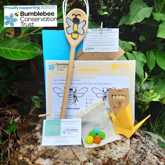 Bumblebee Conservation Trust Activity Bag - Bee Seed Marker