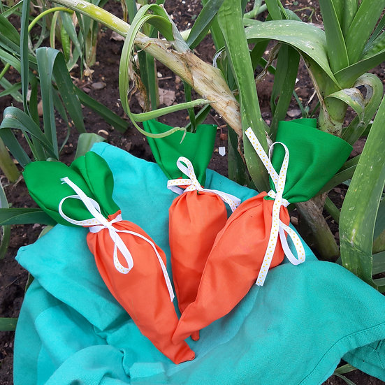 Easter Carrot Gift Bags