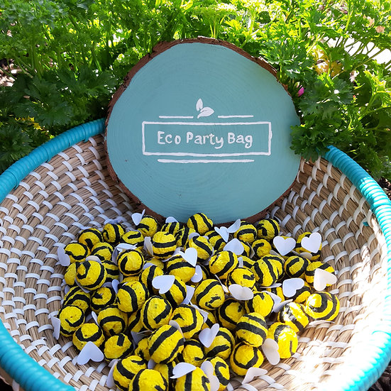 Bee Wildflower Seed Bombs Favour