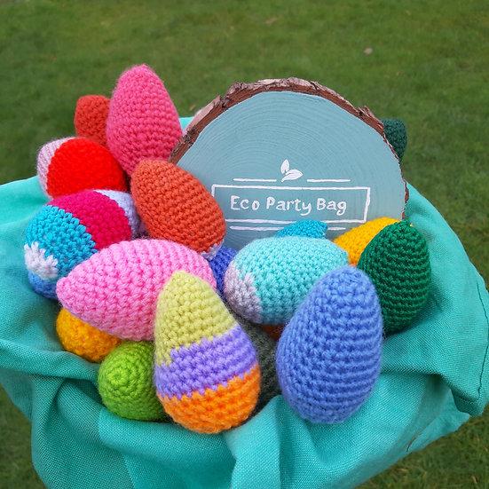 Easter Hunt Set of 6 Eggs