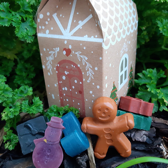 Christmas Soy Wax Crayons - Set of 6
