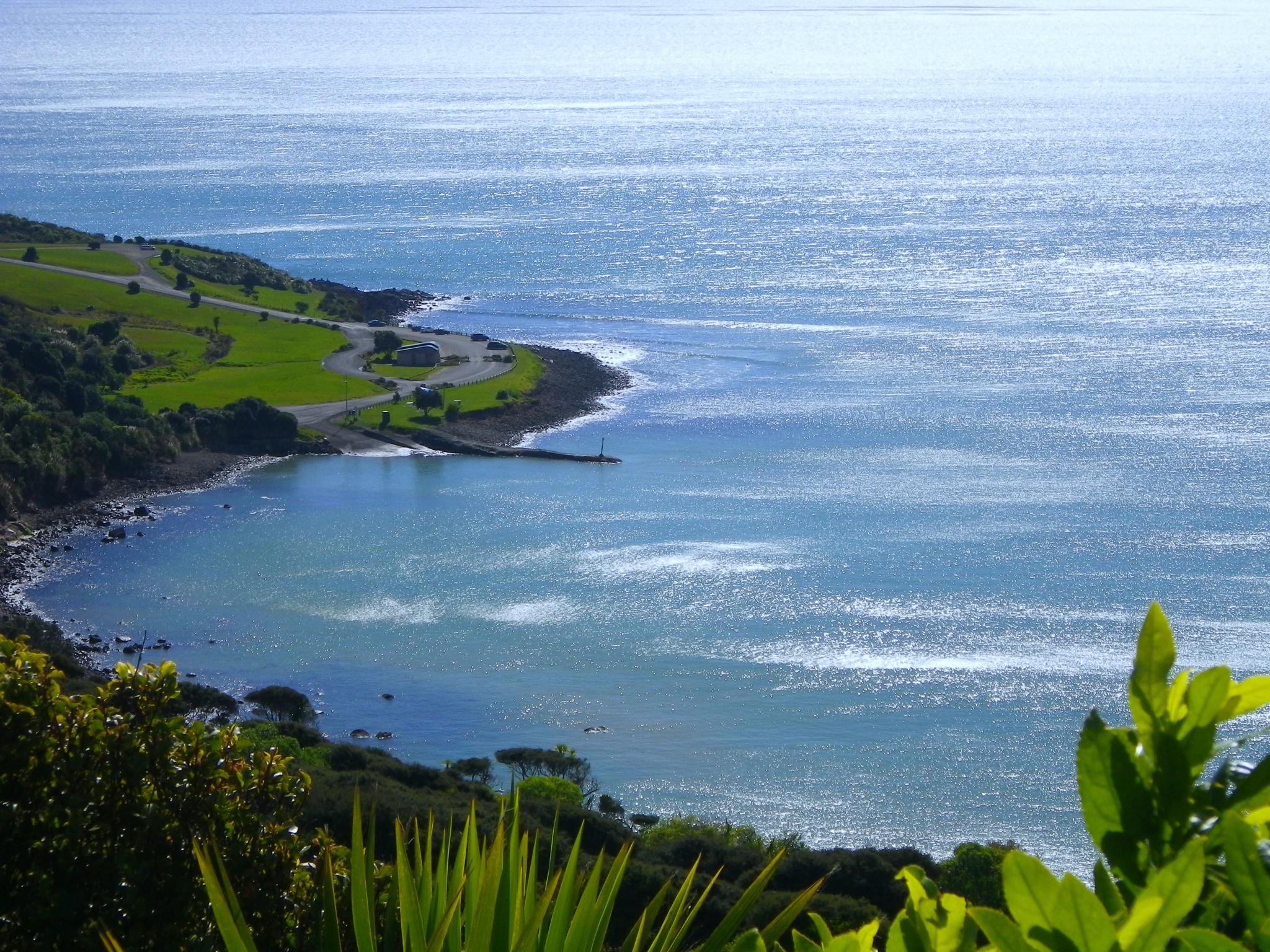 Manu bay, New Zealand