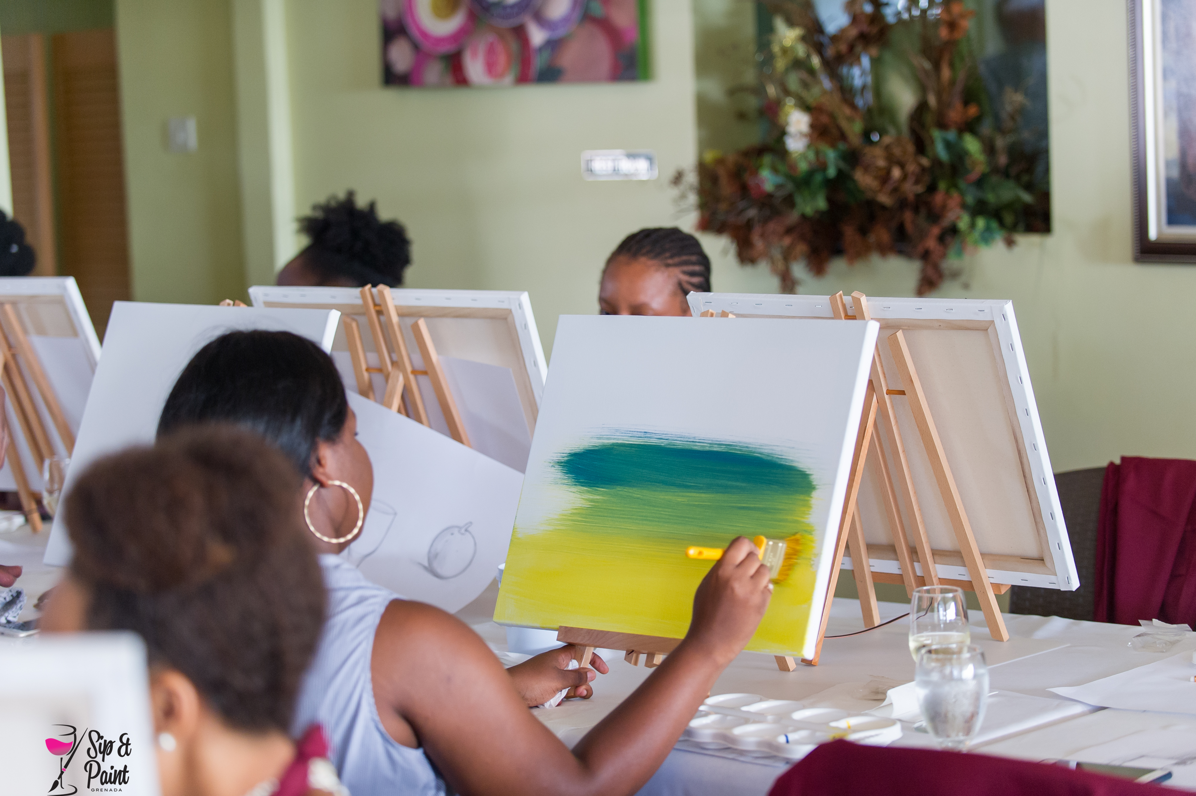 Sip & Paint Sessions