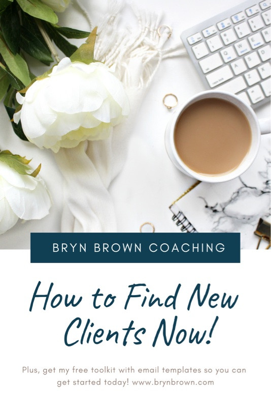 Get my best tip for getting new clients